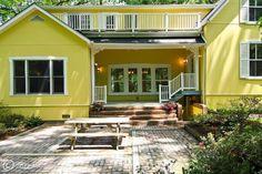 Cute #yellow home in Washington Grove, #Maryland