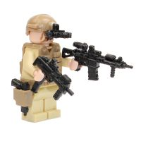 Custom LEGO® Military builder model kits, Army minifigs and toy guns by CombatBrick. - CombatBrick