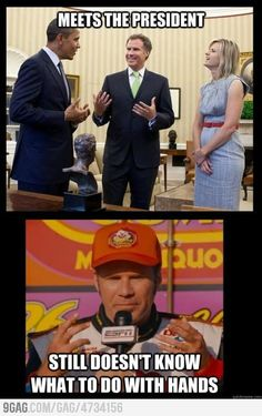 You talent Ricky bobby i piss excellence