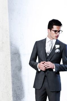 Armani suit. I could rock this.
