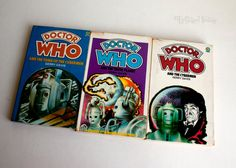 DOCTOR WHO 3 x Target Adventure CYBERMAN Novels by Gerry Davis by UpStagedVintage on Etsy