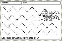 Preschool Sign In, Preschool Worksheets, Preschool Crafts, Fine Motor Activities For Kids, Winter Activities, Polo Norte, Spanish Worksheets, Writing Exercises, Pre Writing