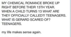 Omg....wait. Okay. So 2019 would be their 18th year if they were still together. That is when a child becomes an adult in most places. That's also the year Danger Days takes place in.