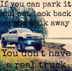Hell Yeah! Gotta LOVE trucks! #truck #realtrucks  visit us at https://www.facebook.com/truckyeahletsgomuddin