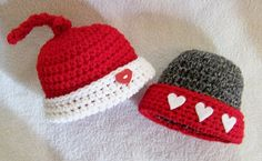 Valentine baby hat  ready to ship in the 03 by conniemariepfost, $22.00