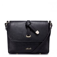 Black Handbag found on Polyvore featuring bags and handbags