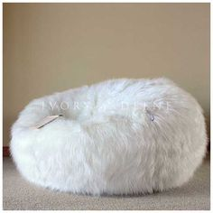 20+ White Fur Bean Bag Chairs That Drop Your Jaw , The white fur bean bag chairs draw the attention among hundreds of sofas and chair. Check our gallery. You will love it!, http://www.designbabylon-interiors.com/20-white-fur-bean-bag-chairs-drop-jaw/