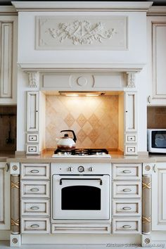 1000 Images About Antique White Kitchens On Pinterest