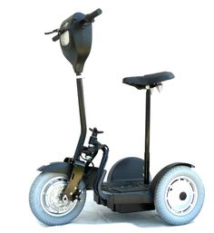 EV Rider Stand N Ride Electric Mobility Scooter with removable seat.
