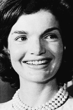 Jackie Kennedy and her pearls.