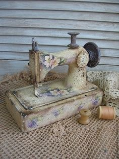 Old sewing machine                                                                                                                                                      More