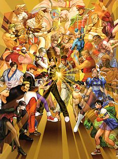 The King of Fighters vs Street Fighters
