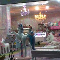 I sooooo want to visit the Unicorn Cafe in Bangkok.