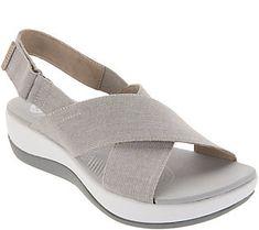b17c58e4b28b CLOUDSTEPPERS by Clarks Adjustable Sandals - Arla Kaydin