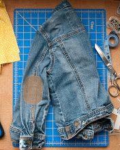Clothes Patching Guide via DesignMom.com
