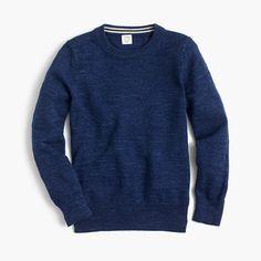 J.Crew+-+Boys'+cotton+crewneck+sweater