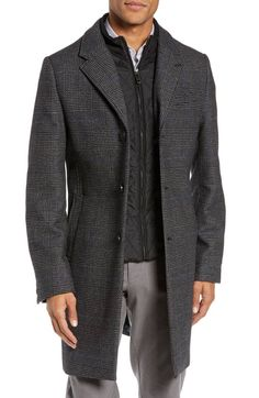 6 Things to Buy from Nordstrom Half-Yearly Sale Ted Baker London - Plaid-Mantel aus Stretchwol. Mens Wool Overcoat, Mens Wool Coats, Ted Baker Suits, Nordstrom Half Yearly Sale, Mens Winter Coat, Winter Outfits Men, Glen Plaid, Men's Coats And Jackets, Cosplay Outfits