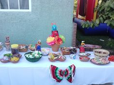 Mexican Fiesta Candy Table Mexican Candy Table, Mexican Party, Candy Party, Birthday Cake, Party Ideas, Desserts, Food, Fiestas, Tailgate Desserts