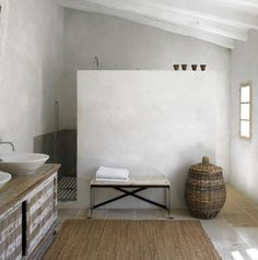 Designed by Mestre Paco, based in Mallorca, Spain are just the right amount of rustic and modern