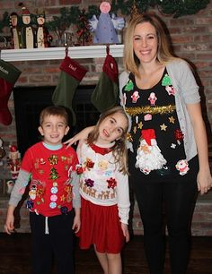 Ugly Christmas Sweater -- maternity