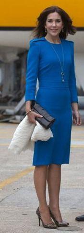 Marlene Birger dress ad leopard print pumps