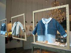 we love shops: ¿Qué tienen en común los escaparates infantiles de Bonpoint, Benetton y Baby Dior?