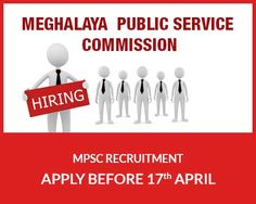 MPSC Recruitment for Various Posts | Apply before 17th April, 2015.