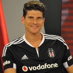 I love his smile German Football Players, Football Team, Mario Gomez, I Love Him, Polo Shirt, Polo Ralph Lauren, Smile, Mens Tops, Shirts