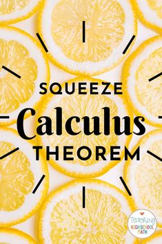 Calculus Working with Trig Limits (Squeeze and Sandwich Theorem) Packet Math Class, Math Teacher, Teaching Math, Calculus Notes, Ap Calculus, Chemical Engineering, Electrical Engineering, Business Education, Energy Technology