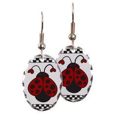 Ladybug Bug Earring on CafePress.com