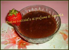 Budino al cioccolato con profumo di cannella