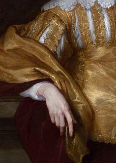 Anthony van Dyck, Lord John Stuart and Lord Bernard Stuart (detail), ca. 1638 (x)