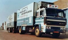DAF 2100. Koeltransport. COMBINATIE.