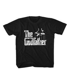 Loving this Black 'The Godfather' Tee - Toddler & Kids on #zulily! #zulilyfinds