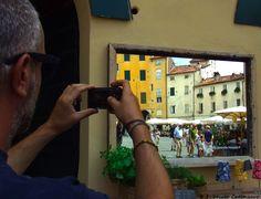 piazza dell'Anfiteatro Lucca, Italia