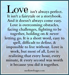 This is so true but so perfect. Marriage is so different than I imagined it would be. It's tough and gets hard sometimes, but the struggle is worth it and growing strong together is amazing. My love and respect grows more and more with time, for endurance builds with fire ❤️