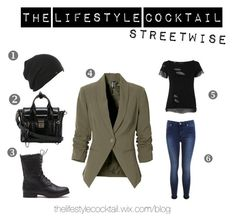 Streetwise - Visit thelifestylecocktail.wix.com/blog for some more insight to this easy-going website!