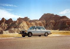 Silver BMW 2002 Travels Country