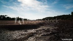 Stock Footage of A linear daytime timelapse showing a dry riverbed with mud cracks drying up as the heat of the day increases with cumulous clouds moving across. Explore similar videos at Adobe Stock Stock Video, Stock Footage, Mud, Adobe, Trees, African, Clouds, Explore, Landscape