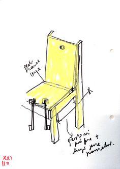 Antonio Scarponi, Sedia Libera, 2016. Tabula Rasa, White Pages, Chair, Furniture, Home Decor, Decoration Home, Room Decor, Home Furnishings, Stool
