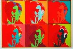Images For - Andy Warhol Self Portrait 1966
