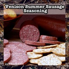 If you like summer #sausage, you will love our #venison summer sausage seasoning! Try it on your wild game this season.