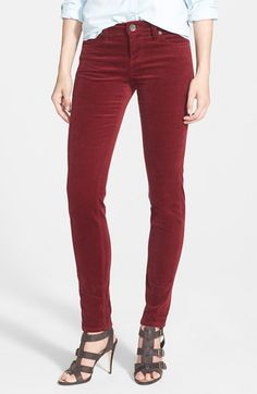 KUT from the Kloth 'Diana' Stretch Corduroy Skinny Pants (Regular & Petite) available at #Nordstrom