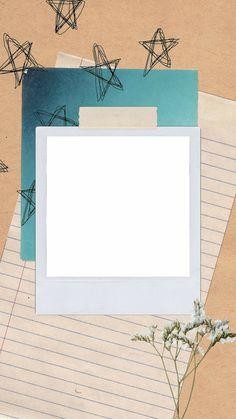 Polaroid Picture Frame, Polaroid Template, Birthday Post Instagram, Collage Background, Background Vintage, Instagram Frame Template, Instagram Background, Instagram Collage, Framed Wallpaper