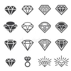Illustration about Web icon illustration design vector. Diamond Tattoo Designs, Diamond Tattoos, Stencils Tatuagem, Tattoo Stencils, Finger Tattoos, Body Art Tattoos, Sleeve Tattoos, Tattoo Sketches, Tattoo Drawings