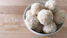 Keto Macadamia Coconut Truffles - YouTube