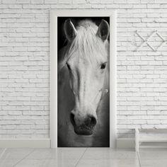 Adesivo de porta cavalo - StickDecor   Decoração Criativa