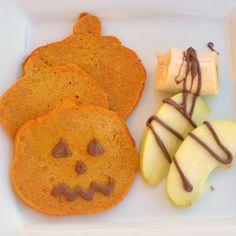 Chocolate Pumpkin Pancakes