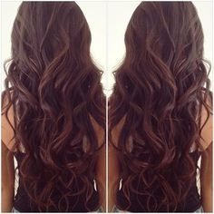 My hair is this long but it wavy like this!...I love it!...doing this for BBC an upcoming wedding!
