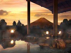 Hakone Hot Springs in Japan
